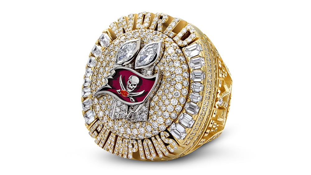 The Tampa Bay Buccaneers Super Bowl LV ring