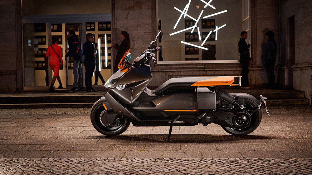 BMW Motorrad CE 04 electric scooter