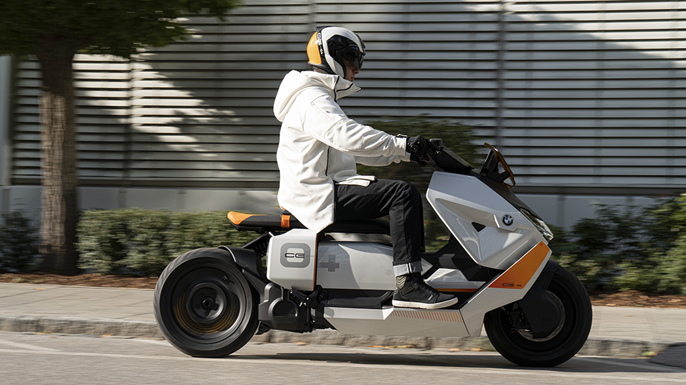 BMW Motorrad Definition CE 04 concept scooter