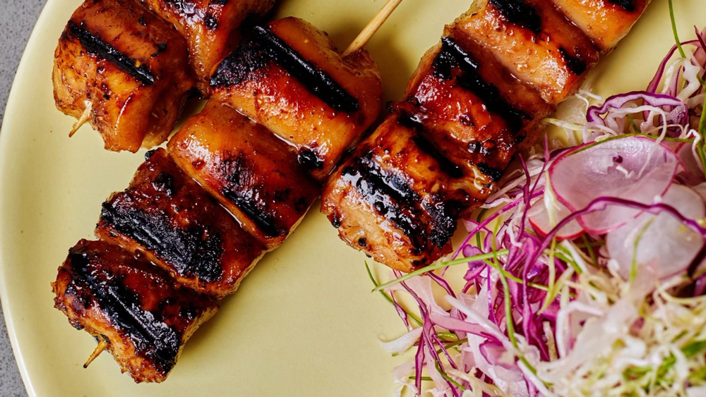 Char Siu Grilled Chicken Thighs