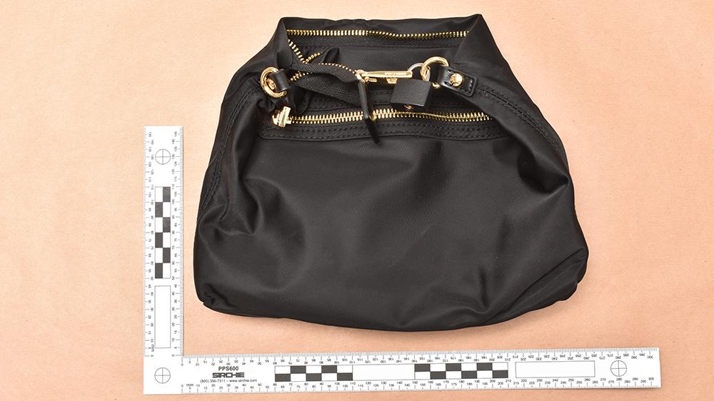 The bag Lulu Lakatos put the diamonds in
