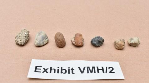 The pebbles Lulu Lakatos tried to swap for diamonds