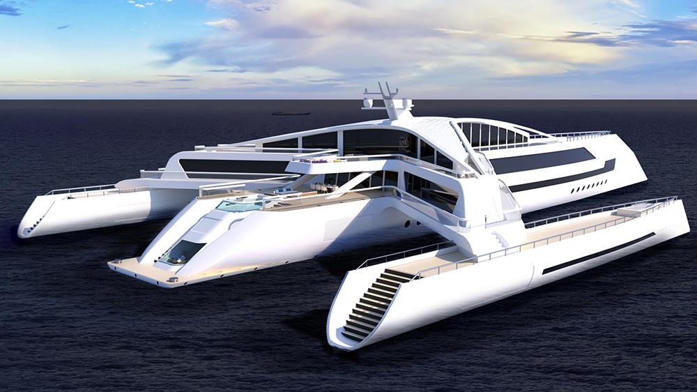 "Yeojin Jung's ""Estrella"" superyacht concept"