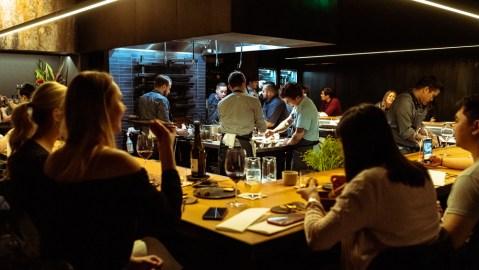 restaurant fine dining tasting counter