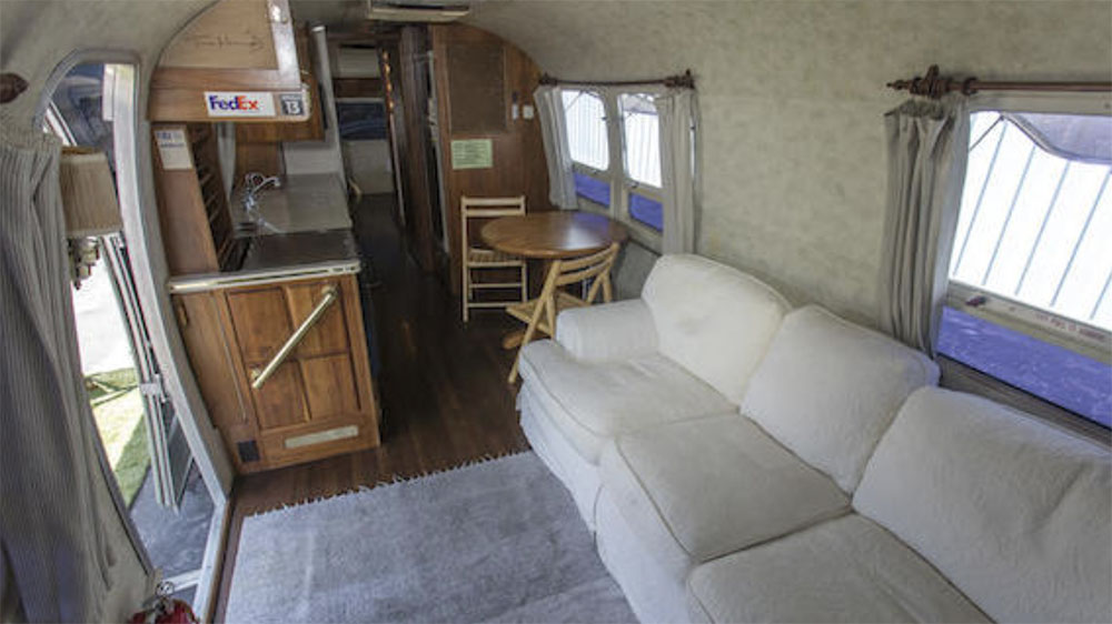 Tom Hanks's 1992 Airstream Model 34 Limited Excella travel trailer