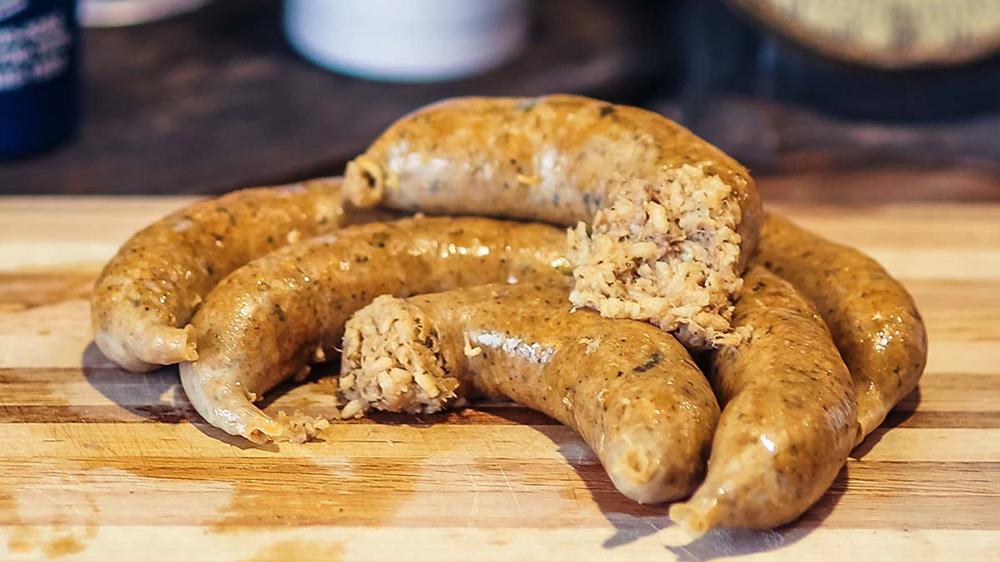 cajun boudin sausage louisiana