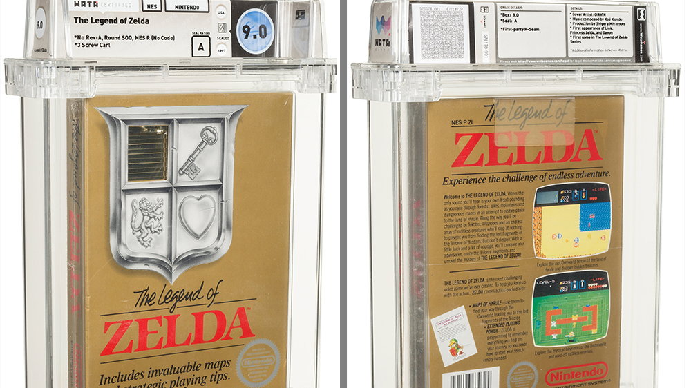 Zelda Video Game Auction