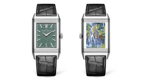 Jaeger-LeCoultre Reverso Tribute Enamel Hokusai 'Kirifuri Waterfall