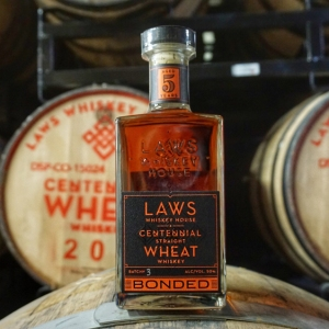 Laws Bonded Centennial Straight Wheat Whiskey