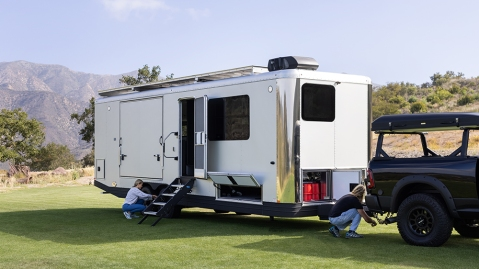 Living Vehicle's 2022 travel trailer