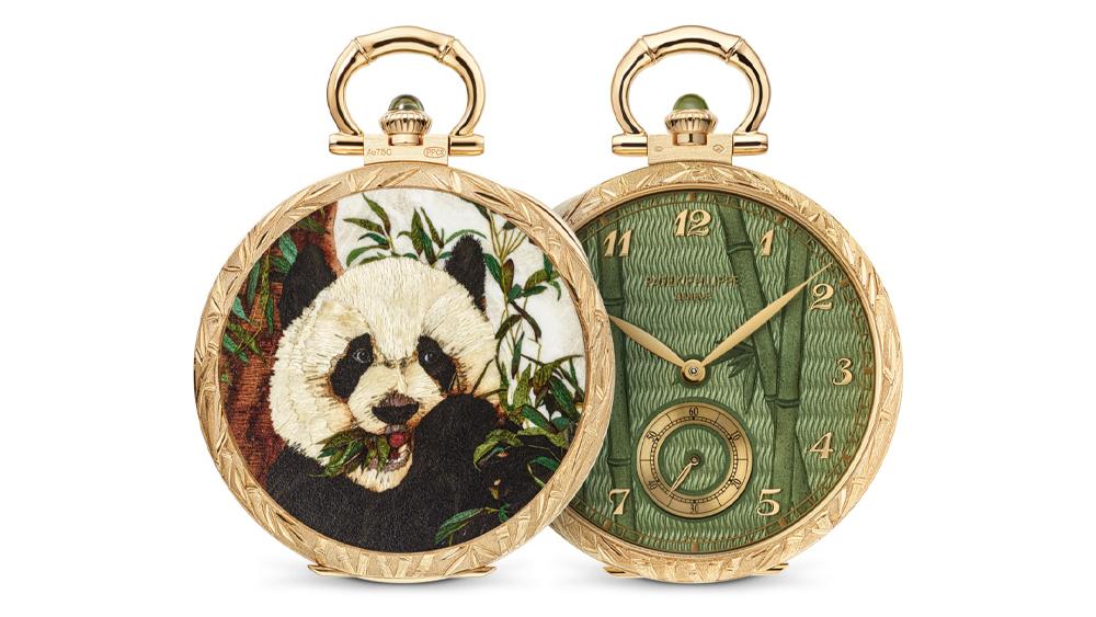 "Patek Philippe Ref. 995/122J ""Panda"" Pocket Watch"