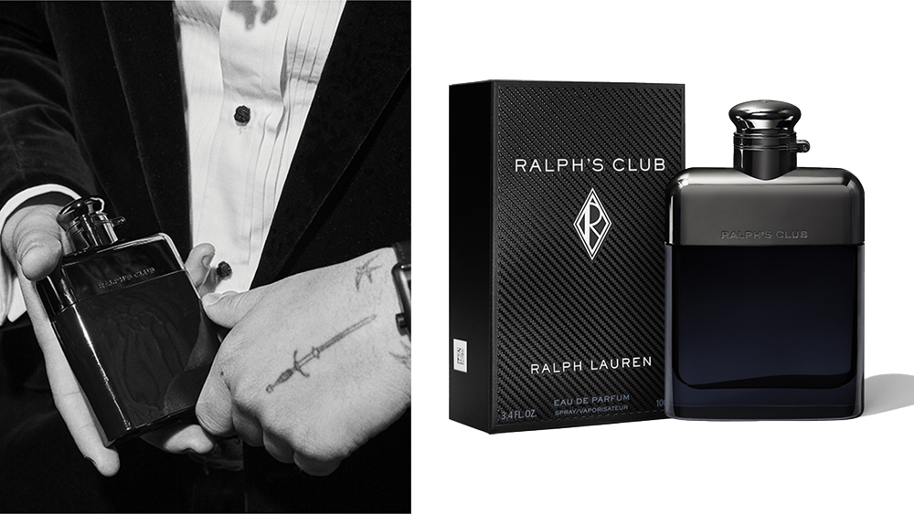 The flask-inspired bottle of Ralph's Club.