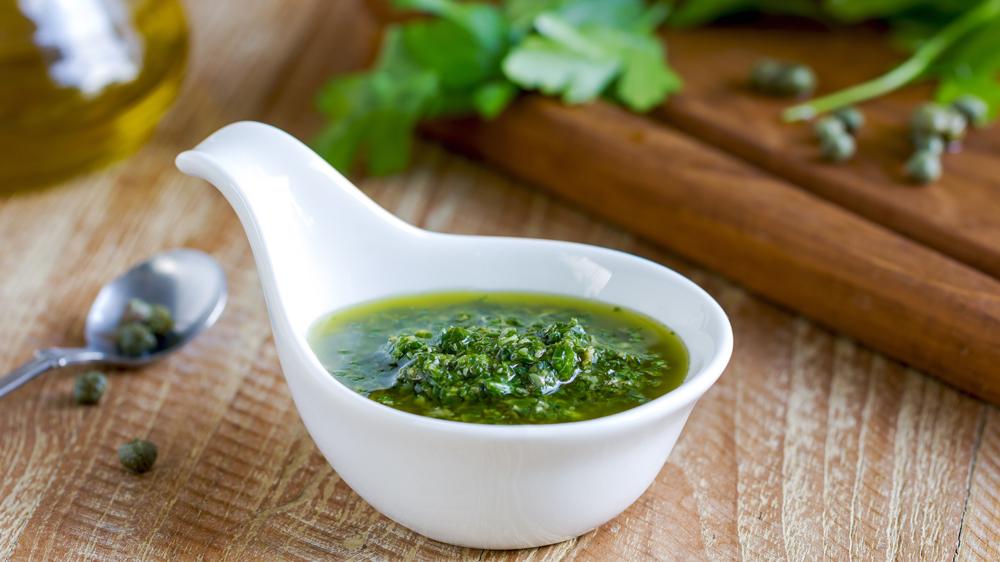 salsa verde parsley