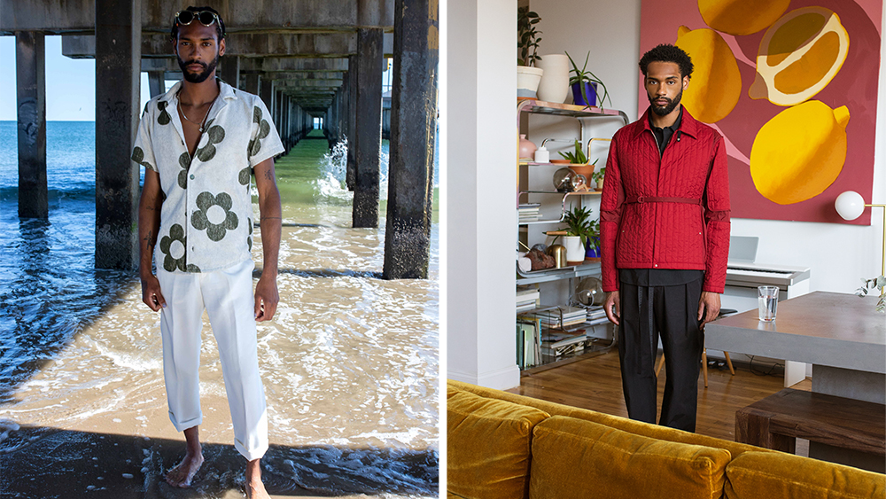 Seasons offers coveted pieces from the likes of OAS (left) and Craig Green (right).