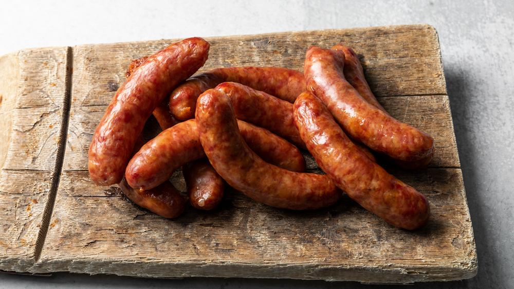pork bacon sausage links