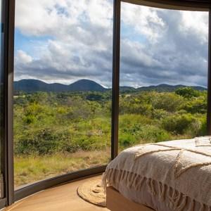 "Kilian Jornet's ""LUMIPOD"" mini-home in the Chaîne des Puys volcanic field"