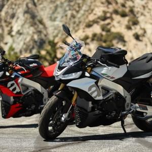 The 2021 Aprilia Tuono V4 and V4 Factory motorcycles.