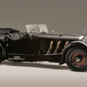 A 1928 Mercedes-Benz 26/120/180 S-Type Supercharged Sports Tourer.