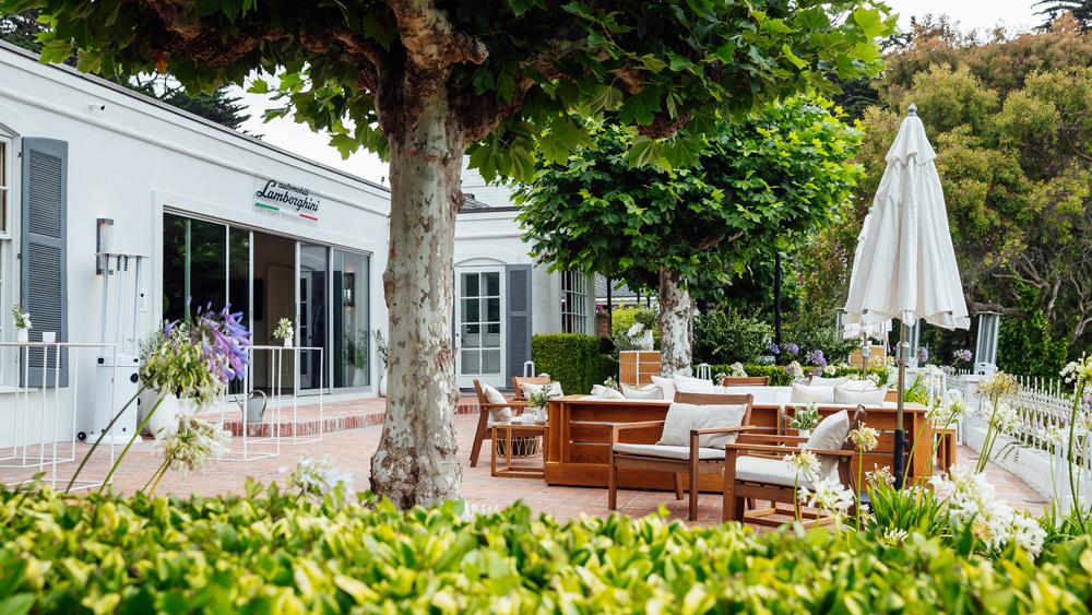The Lamborghini Lounge at the 70th Pebble Beach Concours d'Elegance.