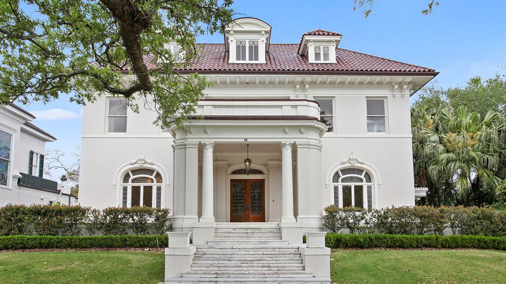 18 Audubon Place New Orleans Lists for $5.5 Million