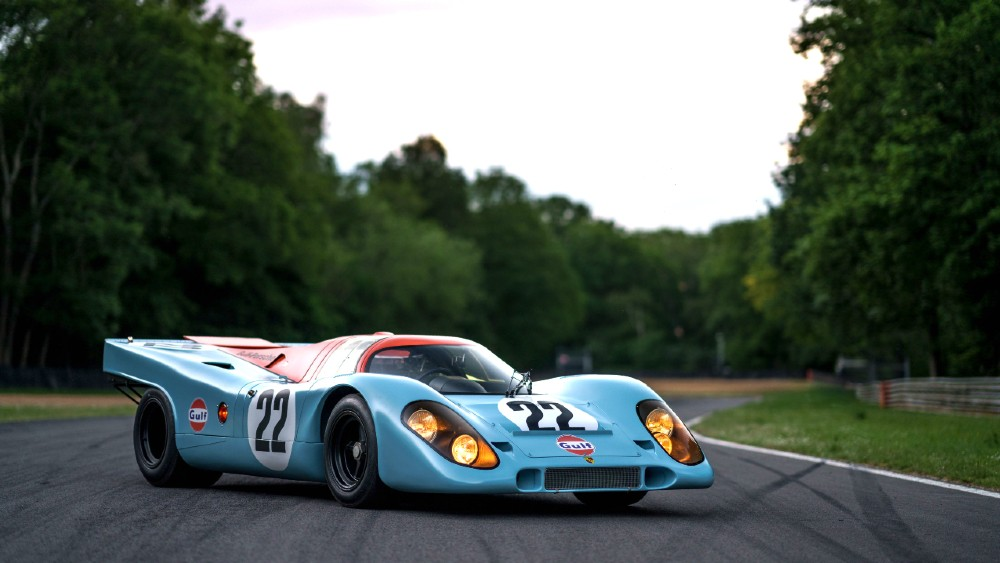 The Porsche 917 used to film the movie Le Mans