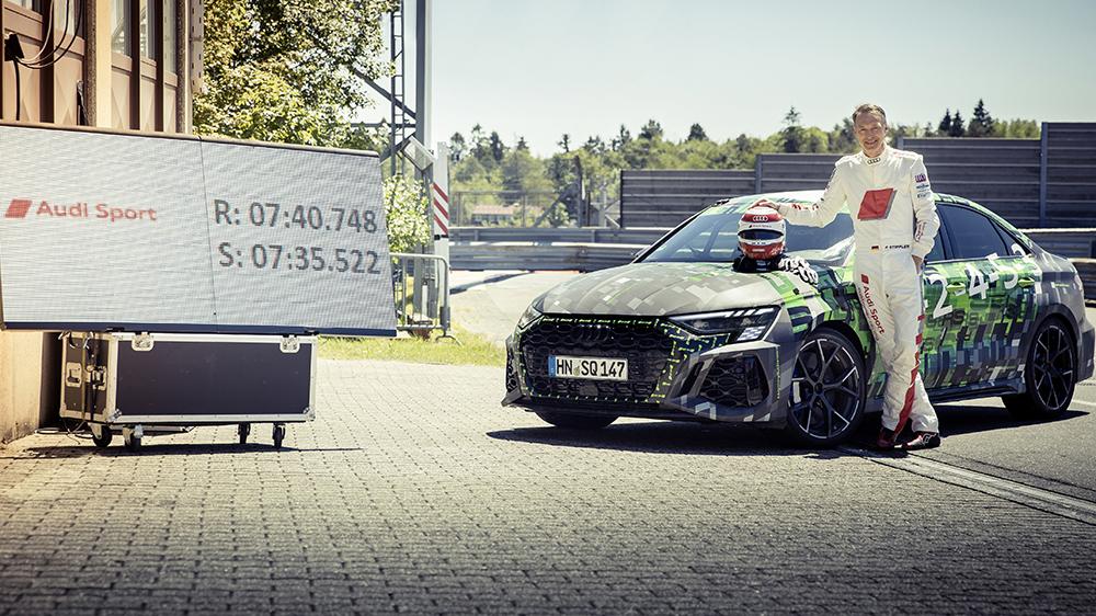 Audi RS 3 Lap Record Nürburgring
