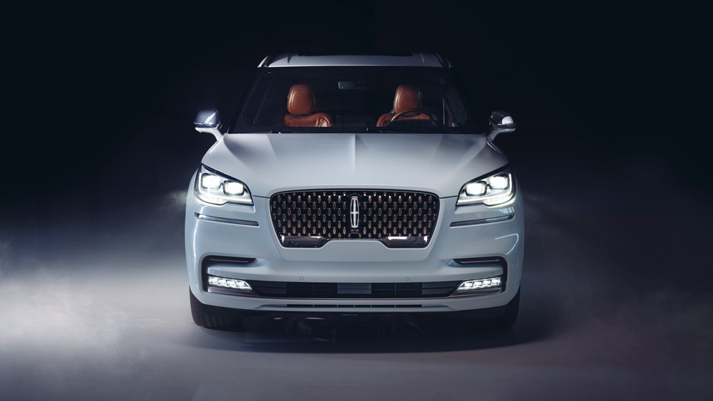 The Aviator concept SUV developed by Lincoln in collaboration with Shinola.
