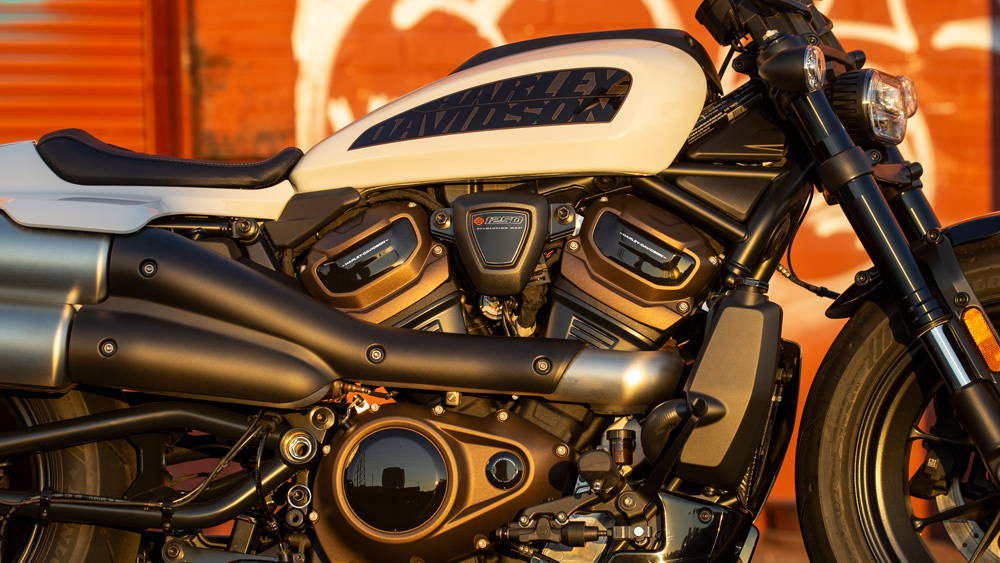 The 2021 Harley-Davidson Sportster S motorcycle.