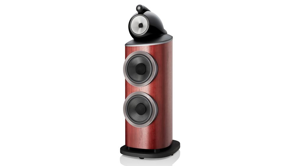 The Bowers & Wilkins 801 D4 loudspeaker.