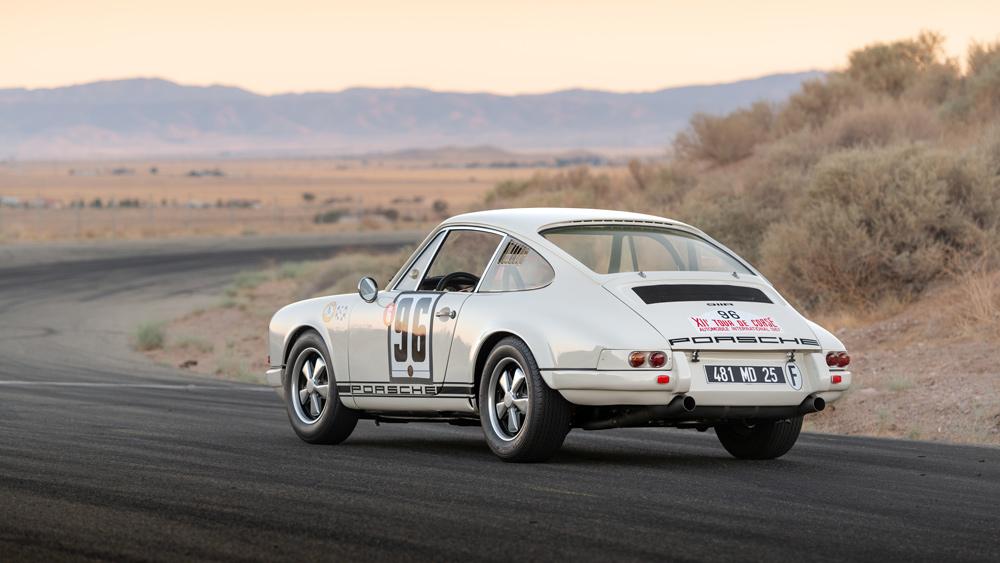A 1968 Porsche 911 R.