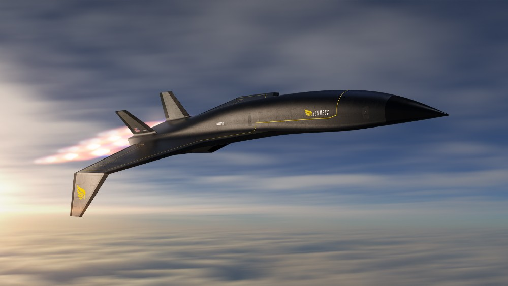The Hermeus Quarterhorse is designed to fly at Mach 5.5 or more than five times the speed of sound