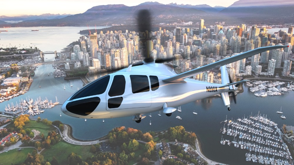 Piasecki Aircraft Corp. said it plans to develop the world's first hydrogen-powered manned helicopter, starting with its eVTOL PA-890 Compound Helicopter