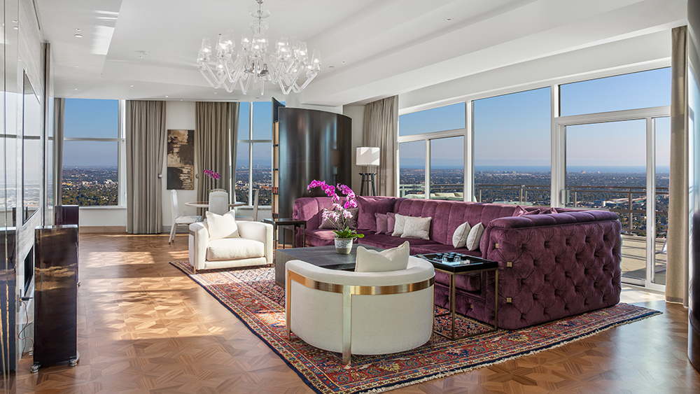 Home of the Week: Inside the $21 Million LA Penthouse Designed by Roberto Cavalli