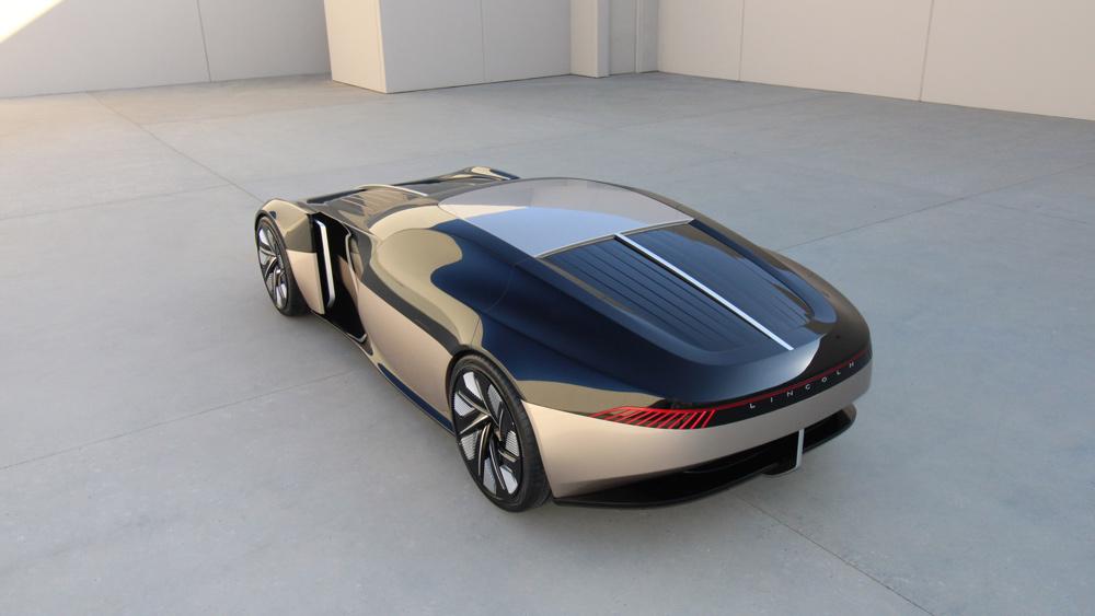 The Lincoln Anniversary concept car.
