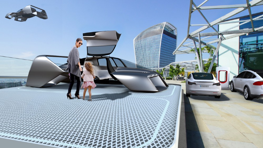 The Leo Coupe from Urban Evtol is designed like a sportscar.