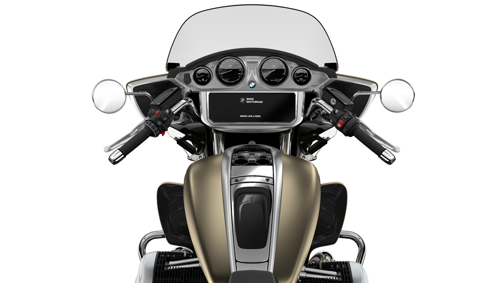 The 2022 BMW R18 Transcontinental motorcycle.