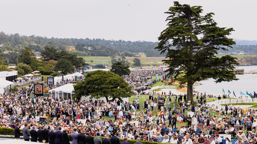 The 70th Pebble Beach Concours d'Elegance.