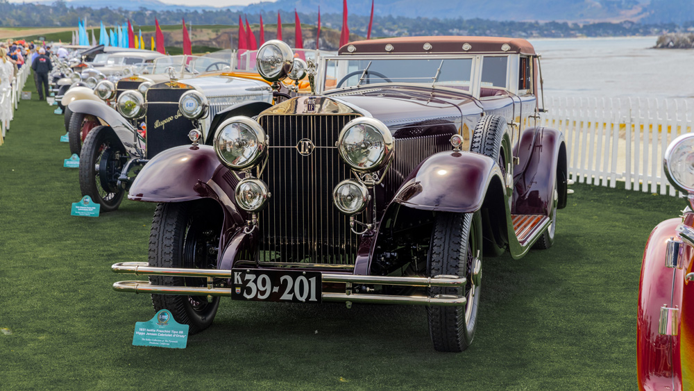 Former Best of Show winners are reunited at the 70th Pebble Beach Concours d'Elegance.