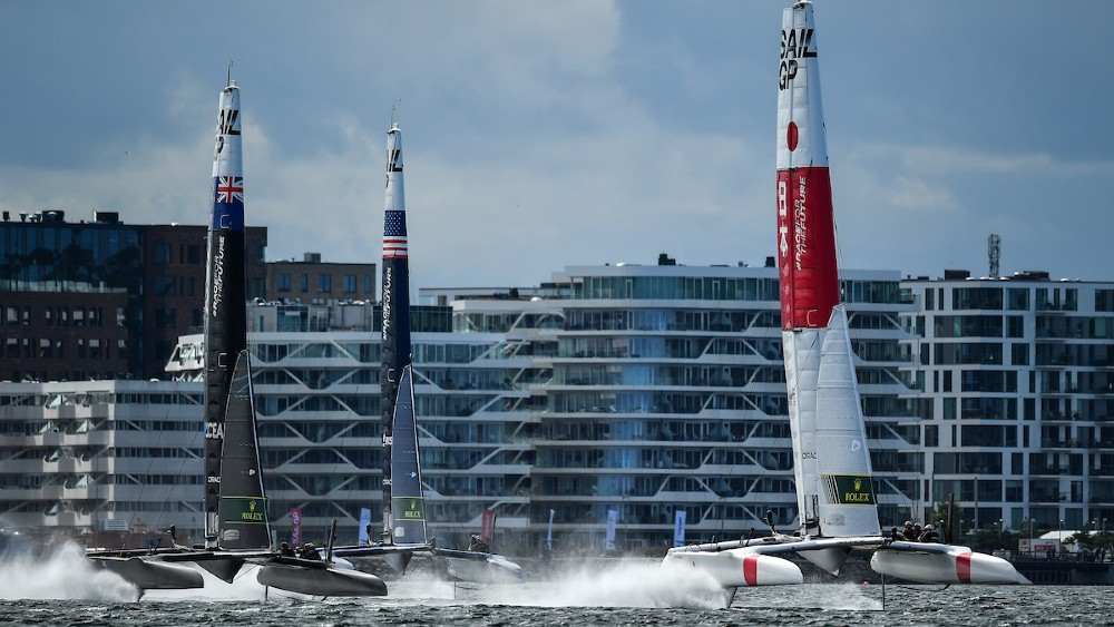 """Instead of inconsistently scheduled events with lots of secrecy, boat development and very little racing, as the Cup has, the two settled on a formula with eight national teams, regular races on a global circuit, a one-design foiling race boat to maximize speed and minimize costs, all requiring a level of athleticism that matches other sports. IMG—the global sports firm with dozens of interests from UFC to bull-fighting—gave it the stamp of approval by joining as a minority investor. """"It's the best opportunity sailing has ever had,"""" Ainslie told Robb Report. """"They see a commercial future for the league that's based on not on sailing's past, but where sports are going."""" Six sailors in protective gear resembling special forces units, scramble around boats screaming around a racecourse at 40 to 60 mph, hulls often reaching high out of the water on one foil. Speed, strategy and near collisions, as teams jockey for the lead, give the racing excitement and immediacy."""