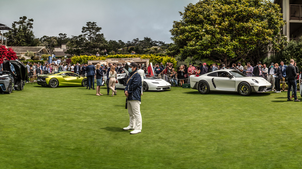 The Concept Lawn at the 70th Pebble Beach Concours d'Elegance.