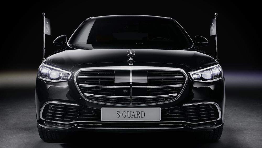 Mercedes-Benz S680 Guard