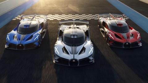 Bugatti Bolide Production Model