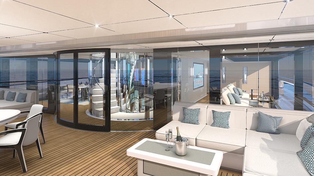See Hybrid Superyacht