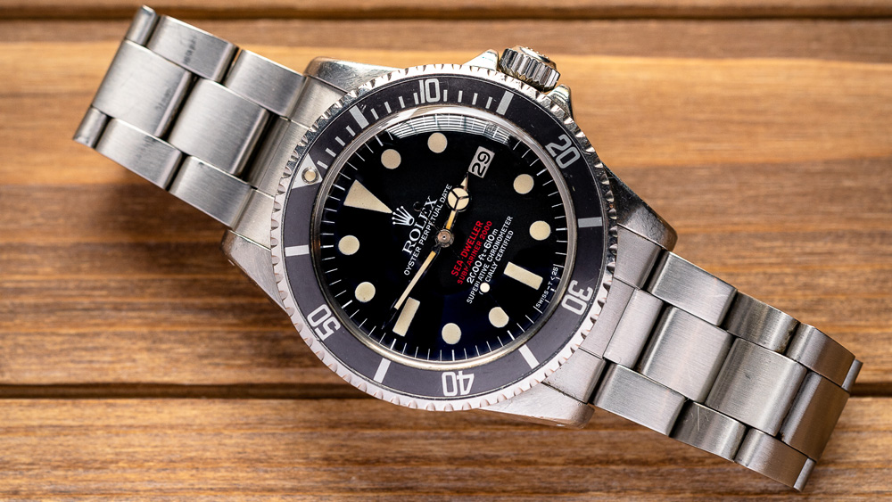 Henry Flores' 1977 Rolex Double Red Sea-Dweller MK4 1665