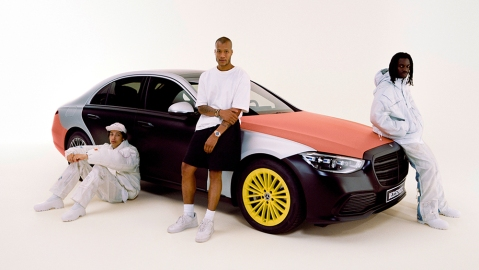 Mercedes-Benz x Heron Preston Airbag Collection
