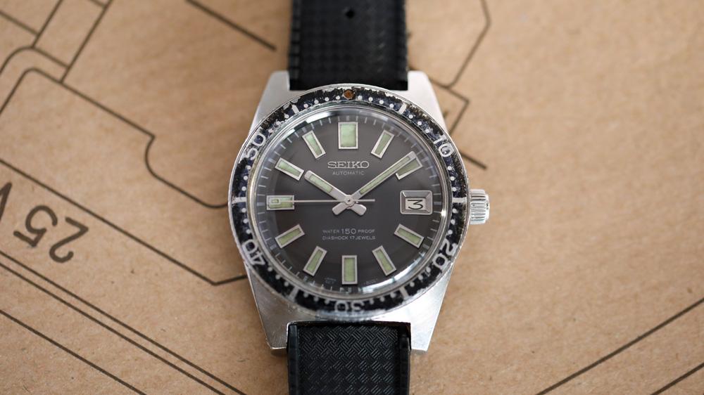 """Jarrod Cooper's vintage Seiko """"62MAS"""" Ref. 6217-8000"""