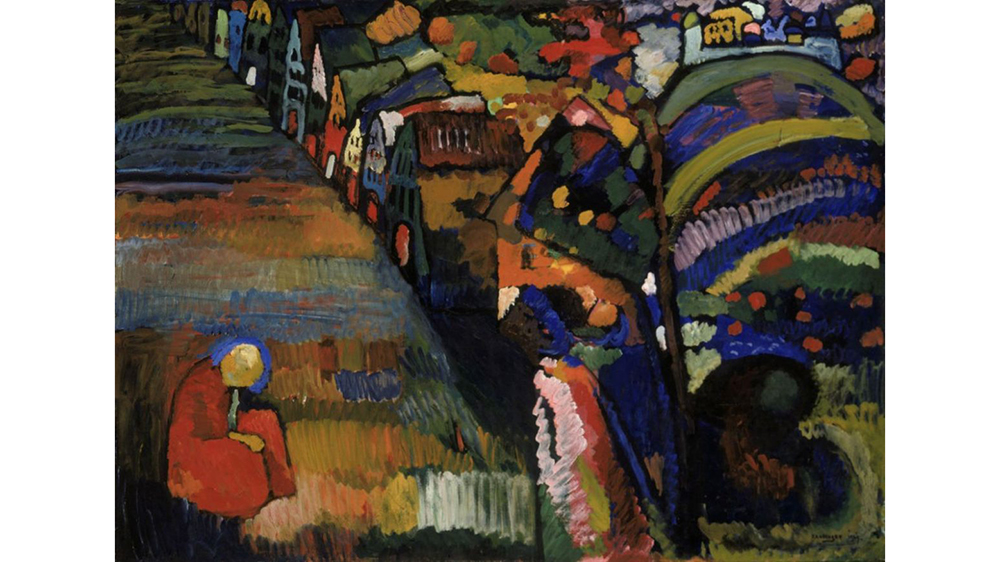 Kandinsky Painting in Amsterdam Restitution
