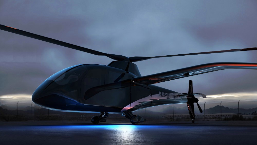 Piasecki Aircraft Corp. said it is working with HyPoint to develop the world's first hydrogen-powered, manned helicopter,starting with its eVTOL PA-890 Compound Helicopter