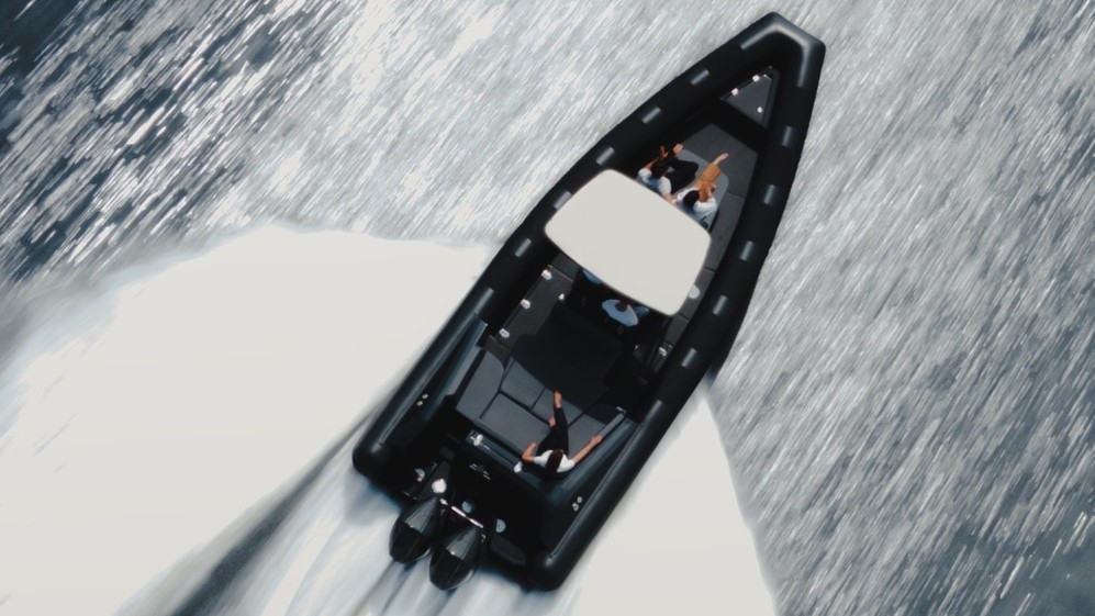 Iguana's new limited-edition Pro Rider is sleek and fast, and gives a new images to amphibious boats.