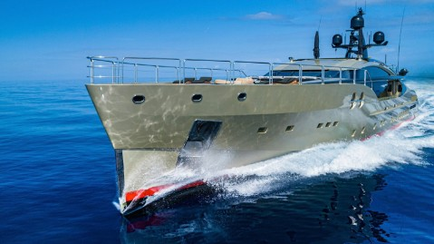 Palmer Johnson DB9 is the largest yacht of this brand ever built